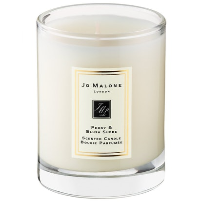 Peony & Blush Suede Candle