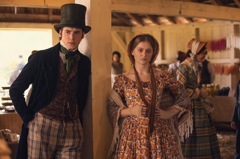 """Pico Alexander and Anna Baryshnikov as Henry """"Ship"""" Shipley and Lavinia Dickinson in 'Dickinson' via AppleTV Press Site"""