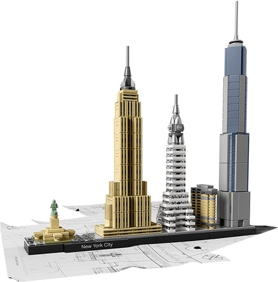 LEGO Build It Yourself New York Skyline Model Kit