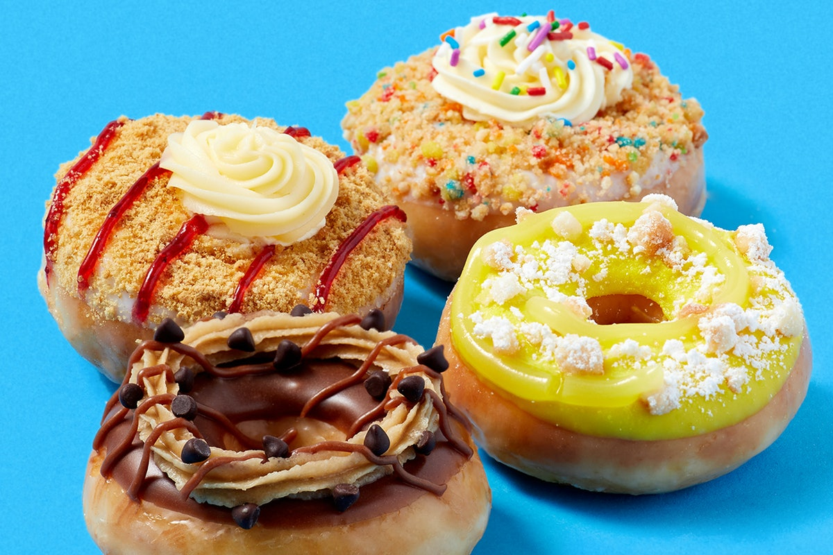 Krispy Kreme's new dessert mini doughnuts are available starting on Jan. 11.