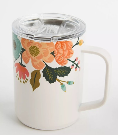 Rifle Paper Co. x Corkcicle Coffee Mug in Lively Cream