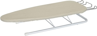 Household Essentials Small Steel Tabletop Ironing Board With Iron Rest