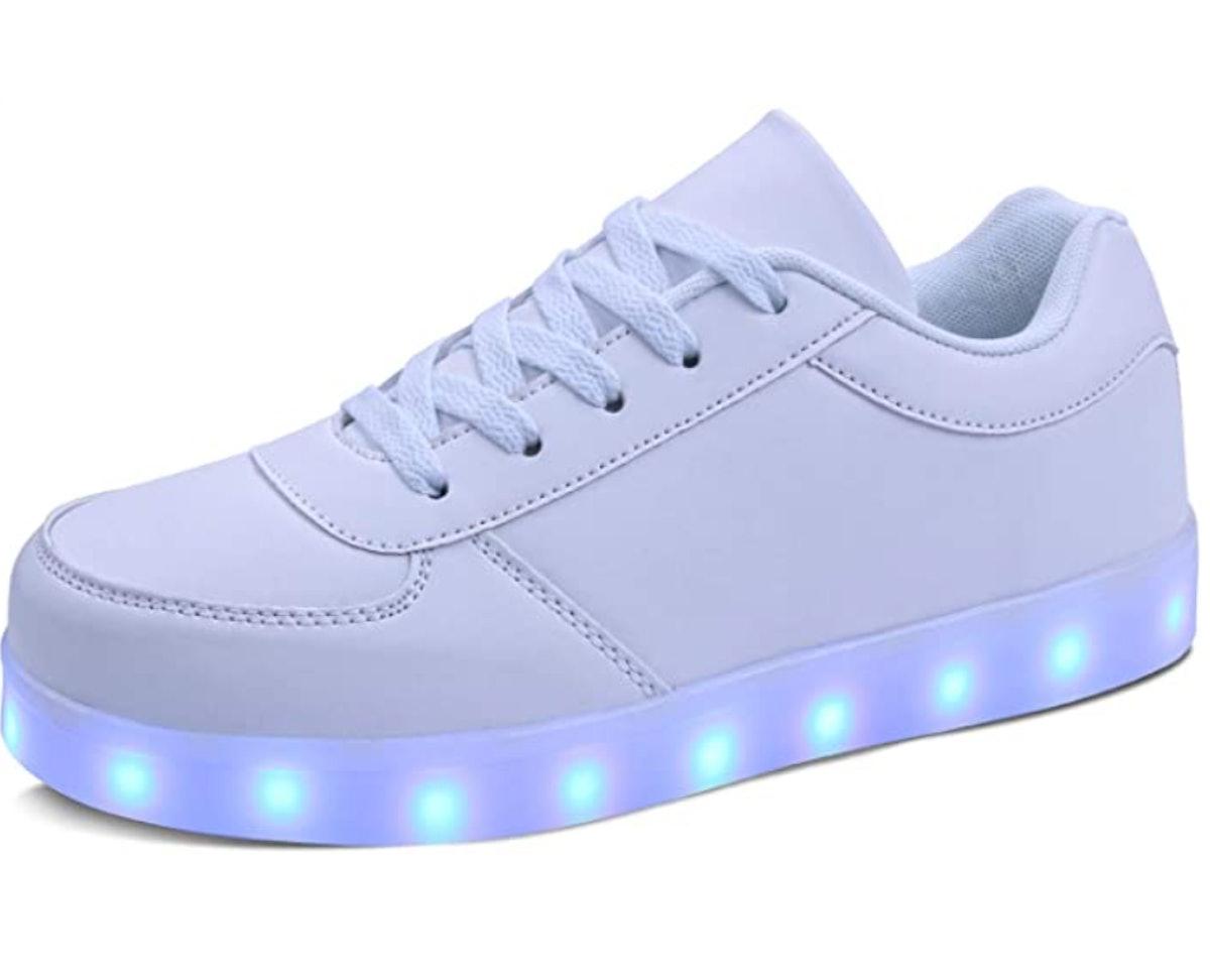 MILEADER Adult LED Shoes Unisex Light Up Shoes