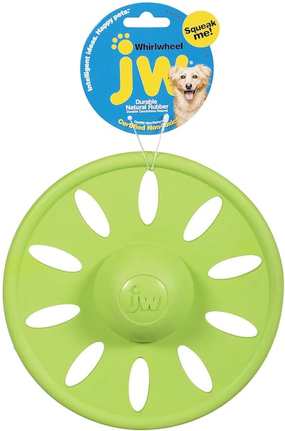 JW Pet, Whirlwheel Flying Disk Dog Toy