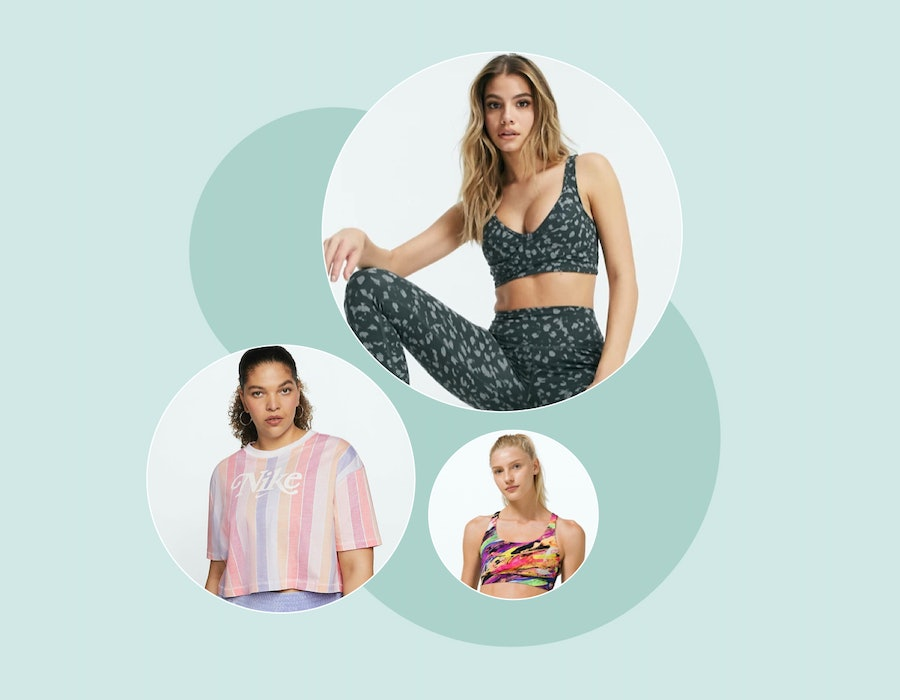 Patterned activewear