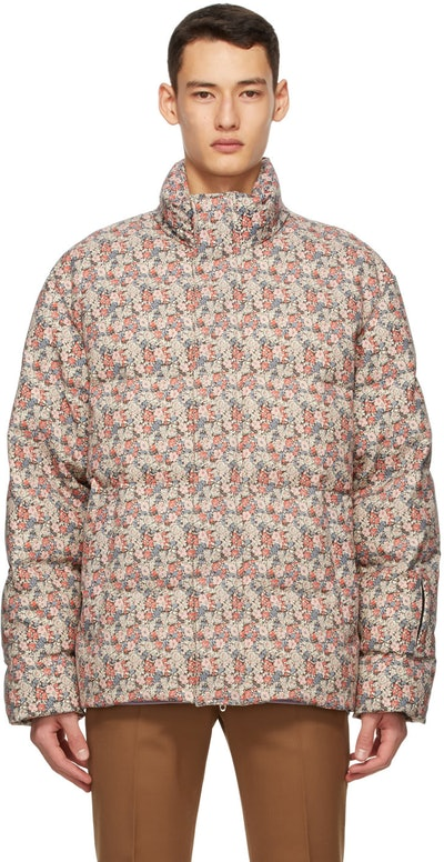 Multicolor Liberty London Edition Down Floral Jacket