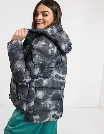 Cropped Puffer Coat