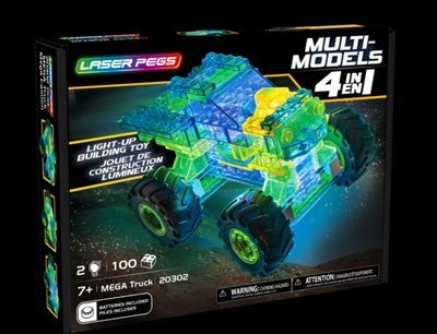 Laser Pegs MEGA Truck 4 in 1