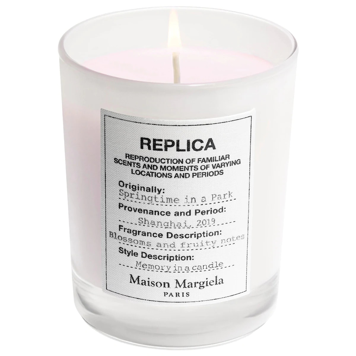 'REPLICA' Springtime in a Park Scented Candle