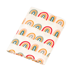 Organic Cotton Rainbow Print Swaddle