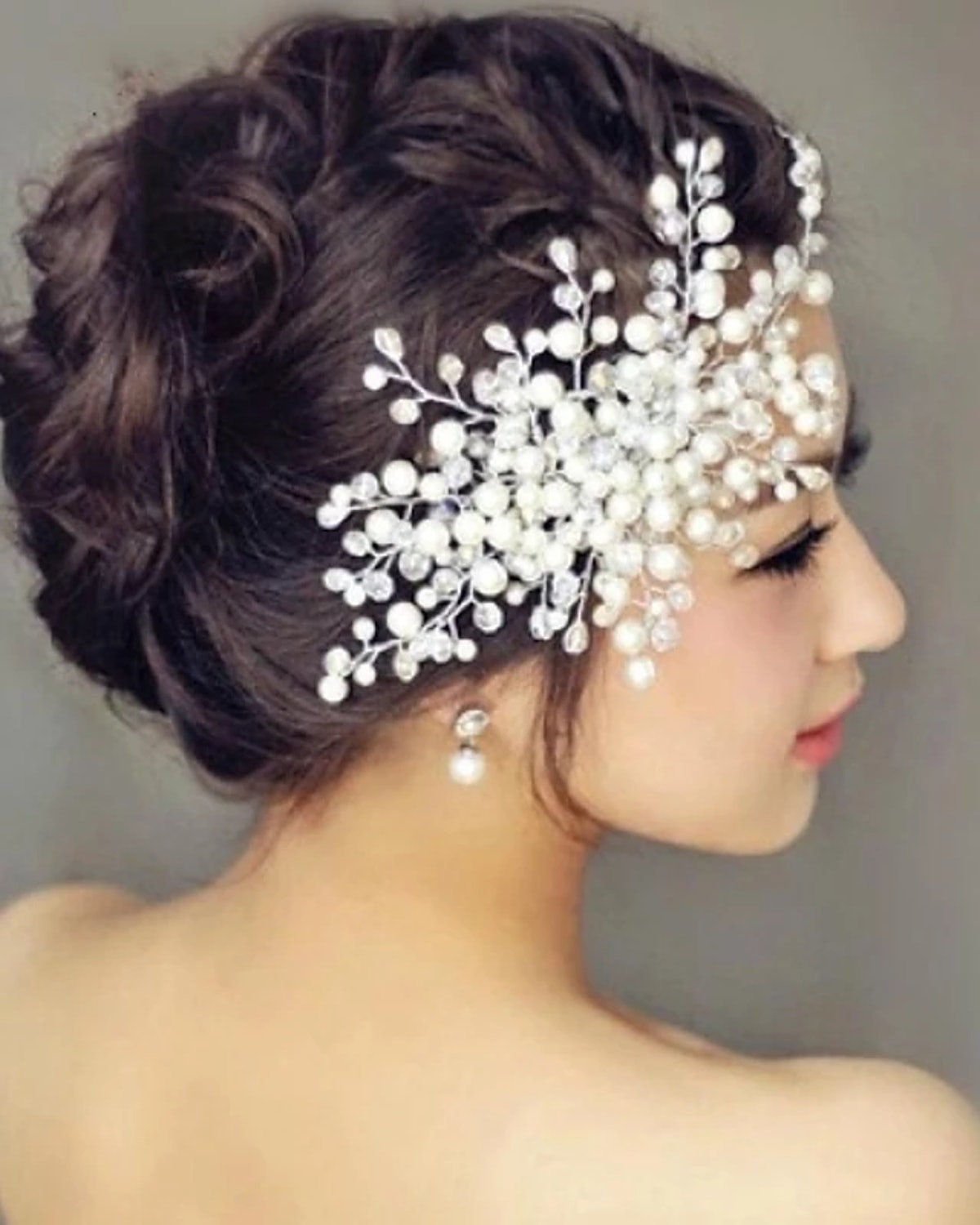 Light in the Box Pearl Hair Combs Headpiece Wedding Party Elegant Feminine Style