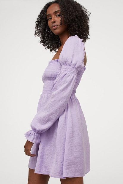H&M Smock-detail Dress