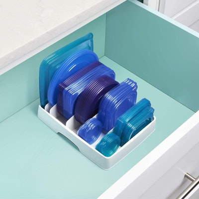 YouCopia Food Container Lid Organizer