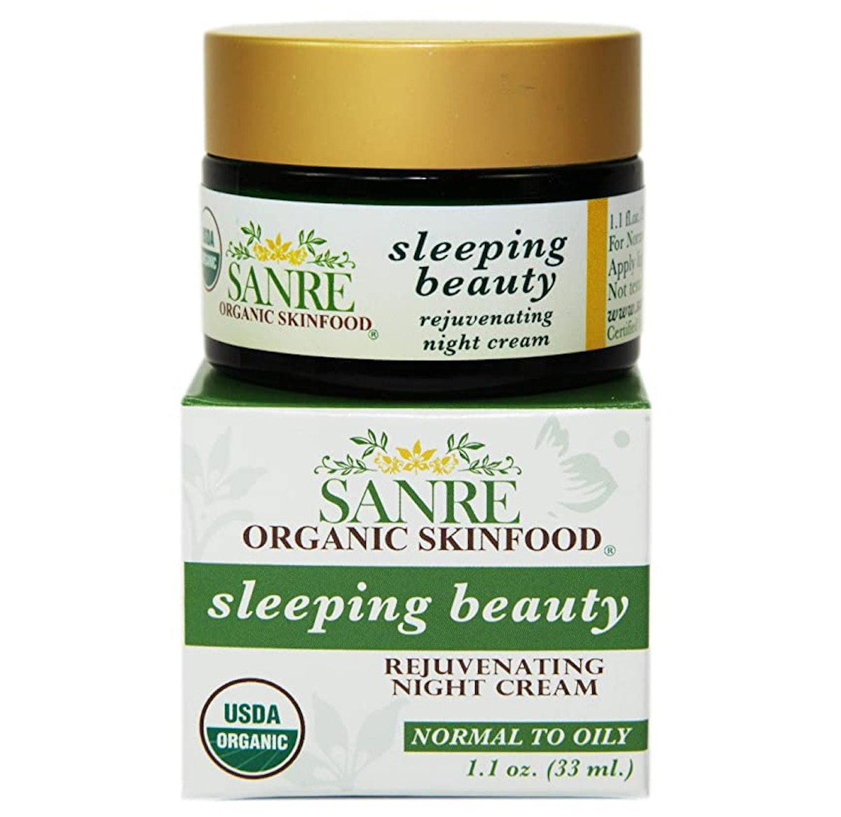 SanRe Organic Skinfood Sleeping Beauty Rejuvenating Night Cream