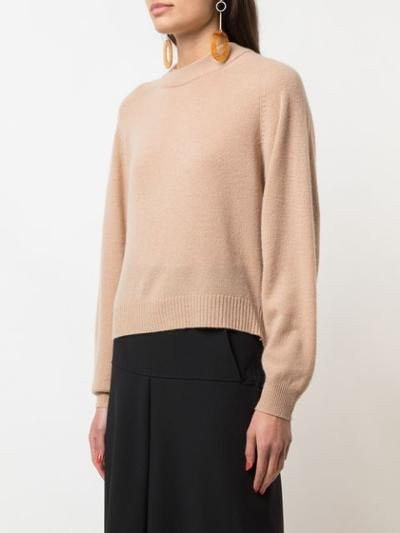 Spring Cashmere Cocoon Cropped Sweater