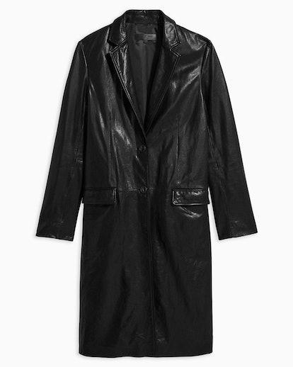 Trinity Leather Coat