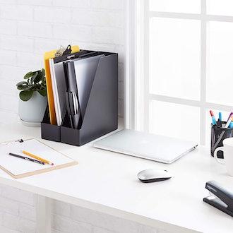 Amazon Basics Desk Organizer (2-Pack)