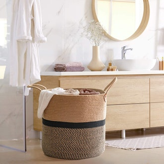 CHICVITA Extra Large Woven Storage Basket