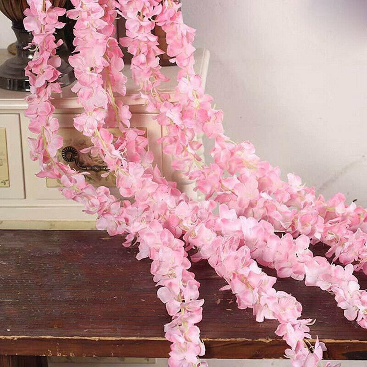 Artificial Fake Wisteria Flower