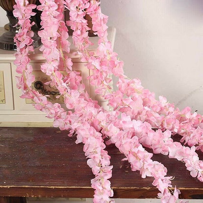 Artificial Fake Wisteria Flower