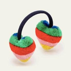 Faux Fur Rainbow Earmuffs
