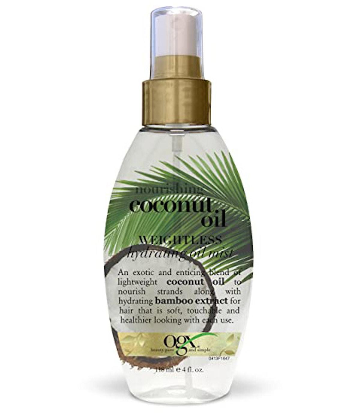 OGX Nourishing + Coconut Oil Weightless Hydrating Oil Hair Mist