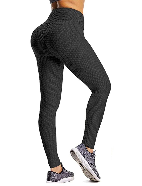 YAMOM High Waist Butt Lifting Workout Leggings
