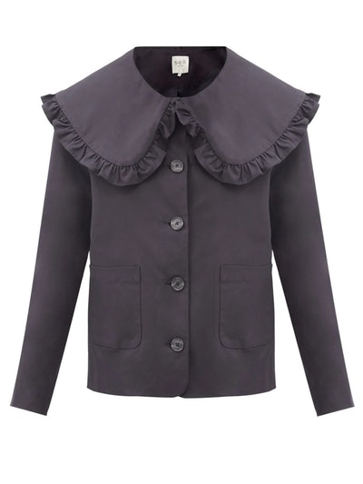 Ruffled Collar Jacket