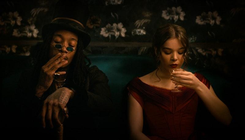 Wiz Khalifa and Hailee Steinfeld in 'Dickinson' Season 2. Photo via Apple TV+