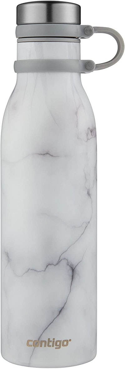 Contigo Couture Vacuum-Insulated Stainless Steel Water Bottle (20 ounces)