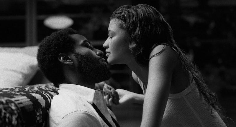John David Washington and Zendaya in 'Malcolm & Marie'