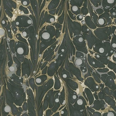 Marbled Endpaper Premium Peel and Stick Wallpaper