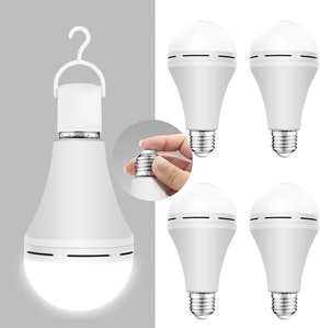 Neporal Rechargeable Light Bulbs (4-Pack)