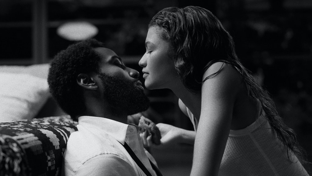 Zendaya and John David Washington in Malcolm & Marie.