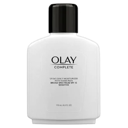 Olay Complete Lotion Moisturizer with SPF 15 for Sensitive Skin
