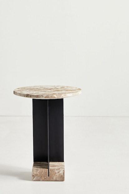 Kapri Marble Side Table