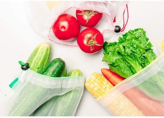 Ecowaare Reusable Produce Bags (Set of 15)