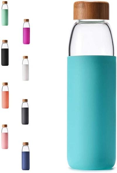 Veegoal Borosilicate Glass Bottle (18 ounces)
