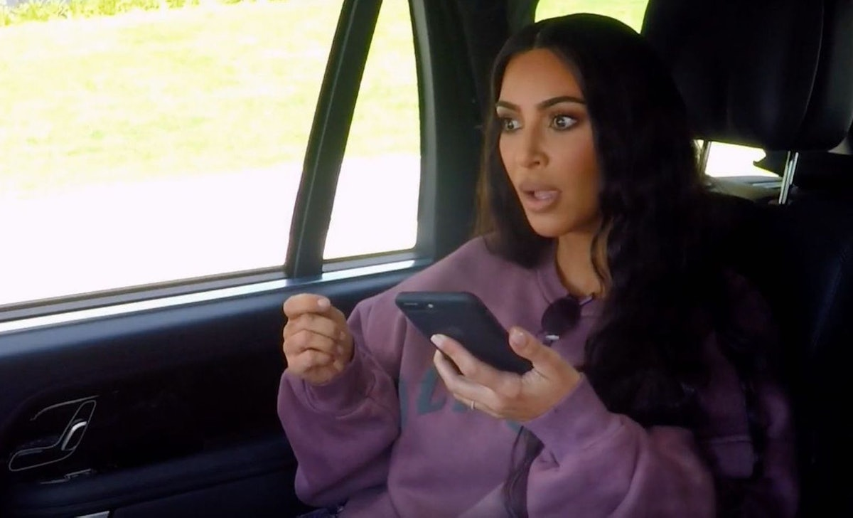 Kim Kardashian posted videos to commemorate the final day of shooting 'Keeping Up With the Kardashians.'