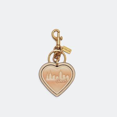 Coach X Jennifer Lopez heart bag charm.