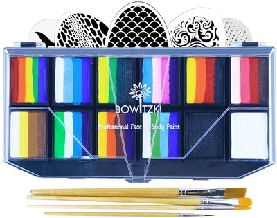 Bowitzki Professional Face Painting Kit