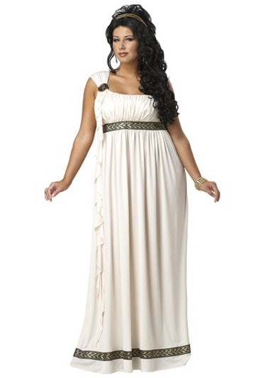 Plus Size Olympic Goddess Women's Costume