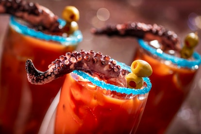 Disney's World's 50th anniversary celebration features Instagram-worthy drinks like the Squids Reven...