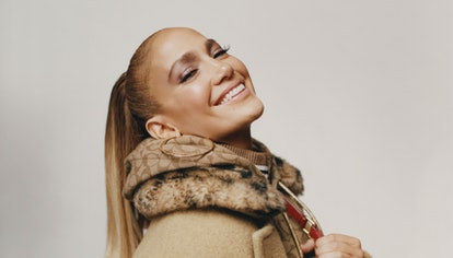 Jennifer Lopez's campaign photo for her collaboration with Coach.