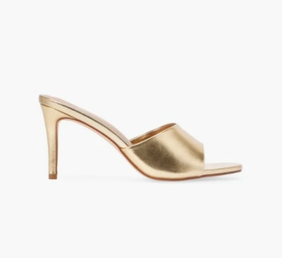 Maddie Mule Heeled Sandal
