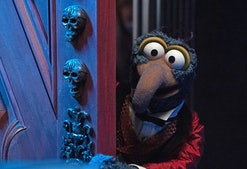 The Great Gonzo stars in Muppets Haunted Mansion