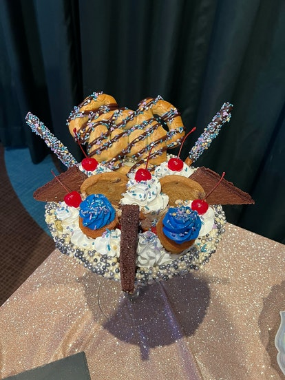 Disney's World's 50th anniversary's most Instagram-worthy food includes a giant ice cream sundae.