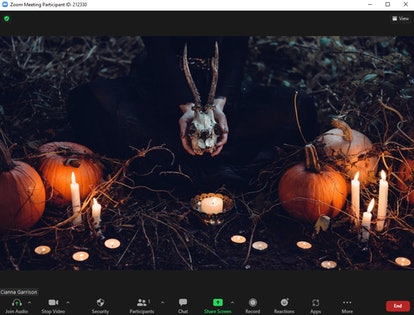 These scary Zoom backgrounds for Halloween include creepy visuals.