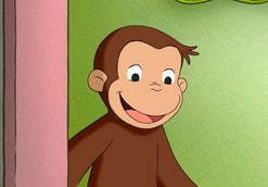 Curious George is a kids' show streaming on Peacock