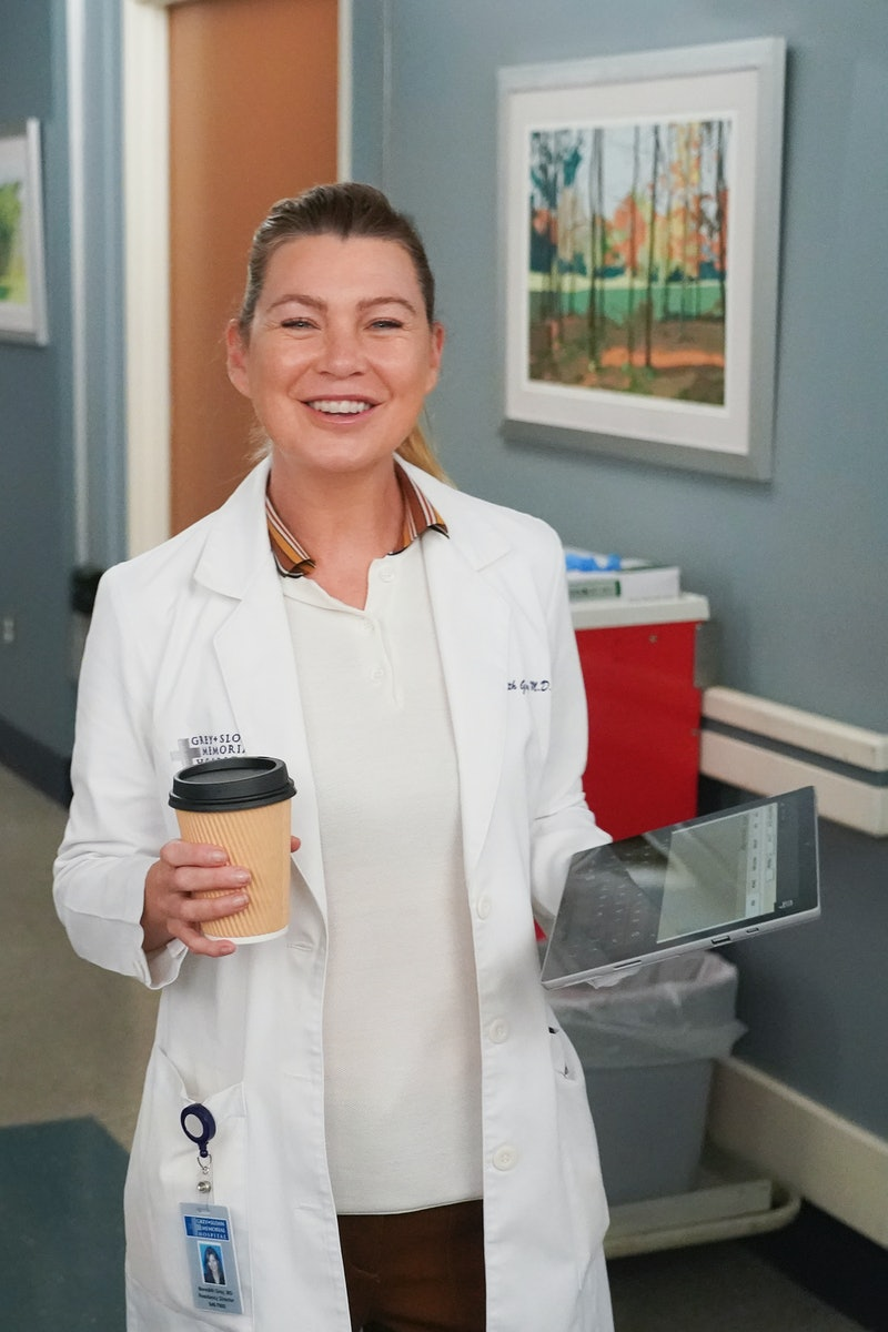 Ellen Pompeo as Dr. Meredith Grey from 'Grey's Anatomy' Season 18 via ABC's press site